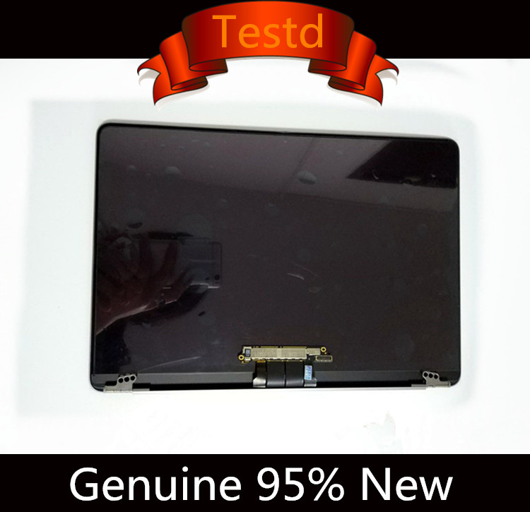 Genuine 98%New Complete LCD Screen Display Assembly for Macbook 12 A1534 2015 2016 MF855 MF856 Gold Grey Rose Gold Silver 98% new for smd package rjp63k2 lcd plasma dedicated 100pcs lot