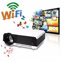 2016 Newest Full HD Projector 5500 lumens LED Android4.4 Wifi Smart Multimedia video 3D Proyector Full hd for home theater