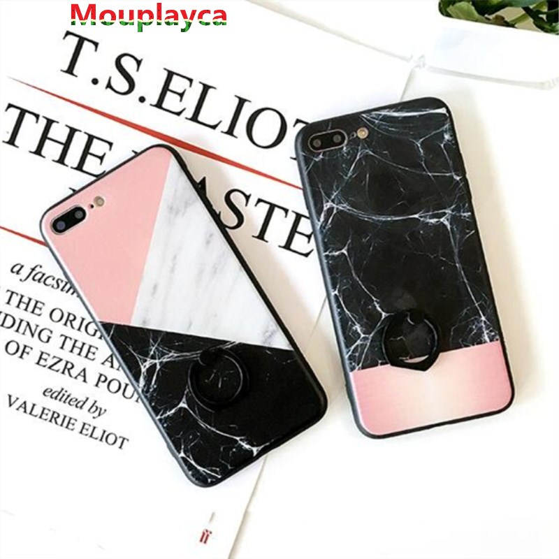 Mouplayca joint case for Apple iphone x slim ultrathin marble joint back cover for iphone 6 6s iphone7plus couple phone cases