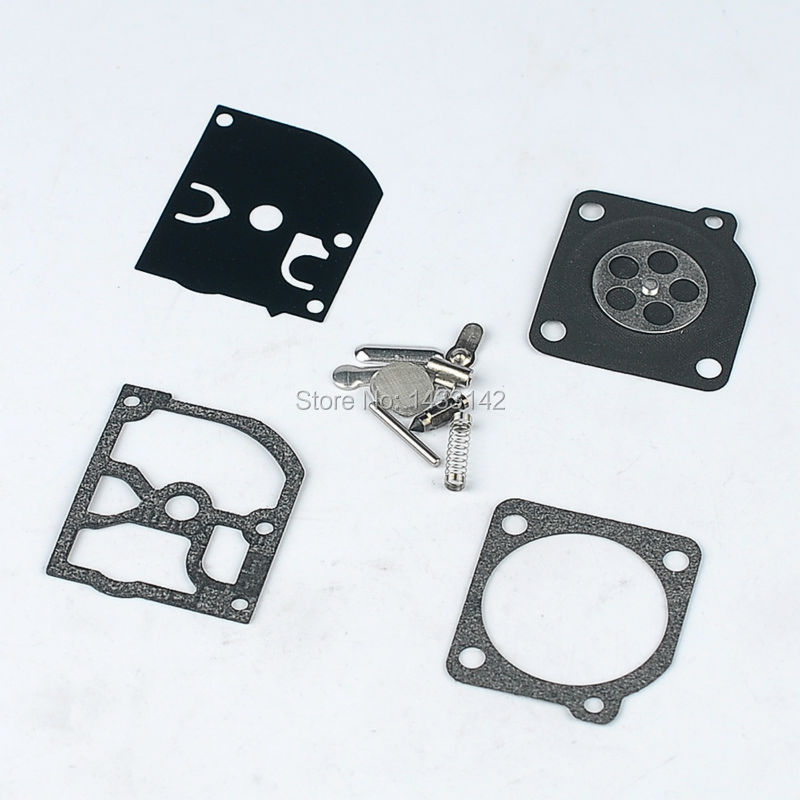 RB-38 Zama Carburetor Rebuild Repair Kit C1Q Carb for Stihl 025 FS200 FS250 FS350 Poulan Weed Eater P 600 адаптер питания