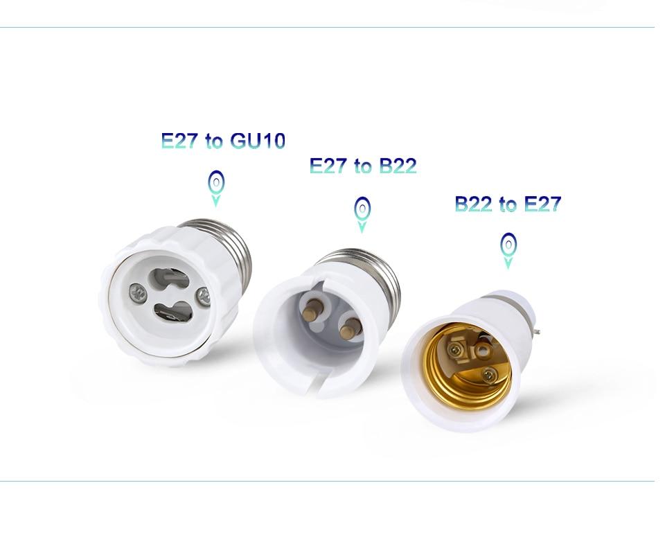 lamp holder base E27 to E14 B22 (12)