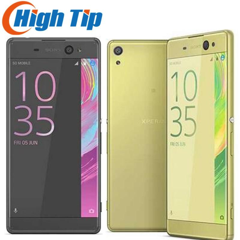 Unlocked Original Sony Xperia XA 13MP 5.0 Inch Camera Android 2GB RAM 16GB ROM Octa core Single/Dual Sim WIFI 1080P Mobile Phone