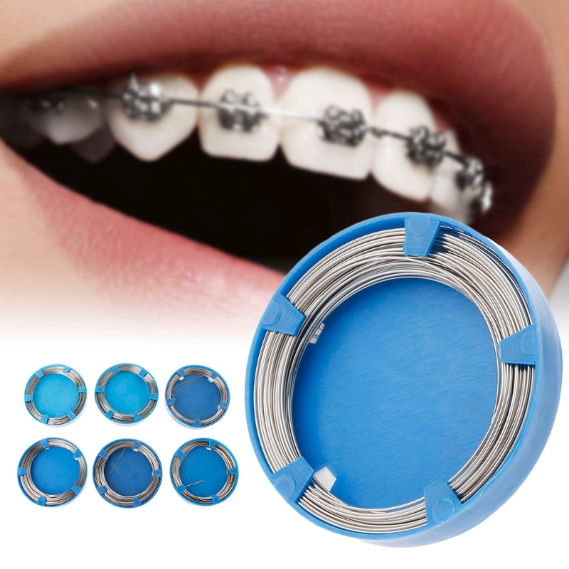 Dental Stainless Steel Wire For Orthodontic Teeth Surgical Instruments 0.5-1.0mm