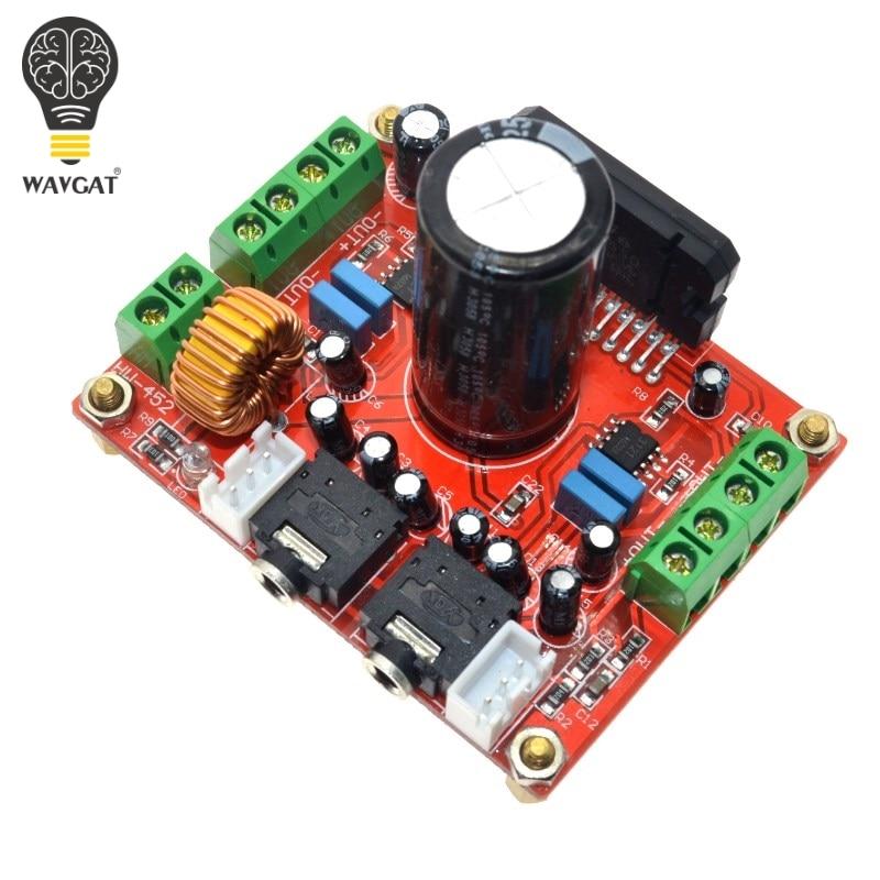 WAVGAT TDA7850 4X50W Car Audio Power Amplifier Board Module BA3121 Denoiser DC 12V