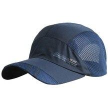 Fashion luxury men outdoor golfs caps quick-drying cap waterproof contracted sunshade baseball hat business sun visor hats