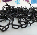 Free shipping wholesales 200pieces/lot black color glasses for barbie doll
