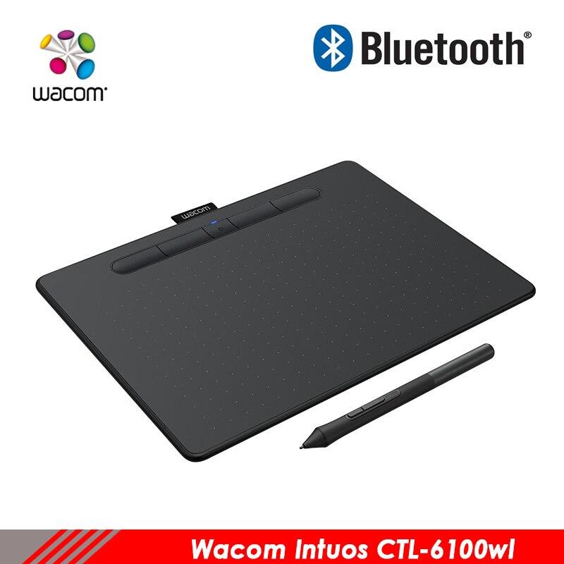 Wacom Intuos CTL-6100WL graphique numérique tablet peint conseil avec bluetooth