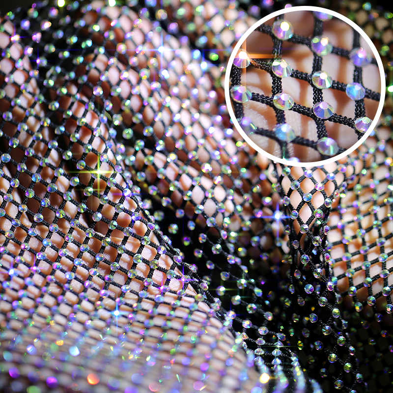 Hang-qiao 2 Warna Bijih Besi Non Hotfix Pipih Rhinestone Lem Kaca Rhinestones Diy untuk Pakaian Dekorasi