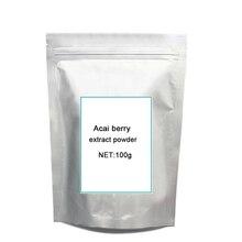 100g Free shipping organic certified acai berry