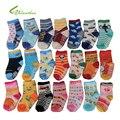 Envío Gratis (10 par/lote) el 100% de Algodón Calcetines de Bebé Calcetines del Piso de Goma antideslizantes de Dibujos Animados Niño Pequeño algodón Calcetines TW002