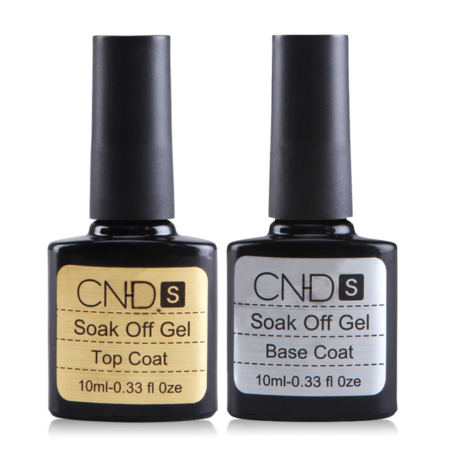 Habi 2 pcs , Top coat, + Base coat, Uv Gel Nail Polish Primer untuk dekorasi Nail Art