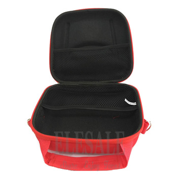 Portable First Aid Kit Bag Water Resistant Emergency Kit Bag Shoulder Strap For Hiking Travel Home Car Emergency Treatment 4