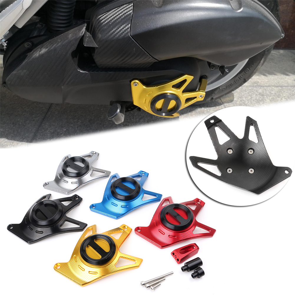 For Yamaha NMAX155 NMax 155 2015 2016 2017 Motorcycle CNC Engine Guard Protection Cover rsd motorcycle 5 hole beveled derby cover aluminum for harley touring flh t 2016 2017 for flhtcul and flhtkl 2015 2016 2017