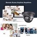 SANNCE AHD 1080 P HD de 2.0MP Câmeras de alta resolução CCTV Segurança H.264 Impermeável Indoor/Ao Ar Livre Câmeras De Vigilância set