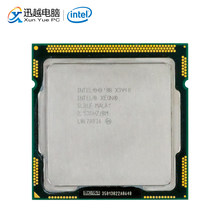 Intel Xeon X3440 Desktop Processor 3440 Qual-Core 2.53GHz 8MB DMI 2.5GT/s LGA 1156 Server Used CPU(China)