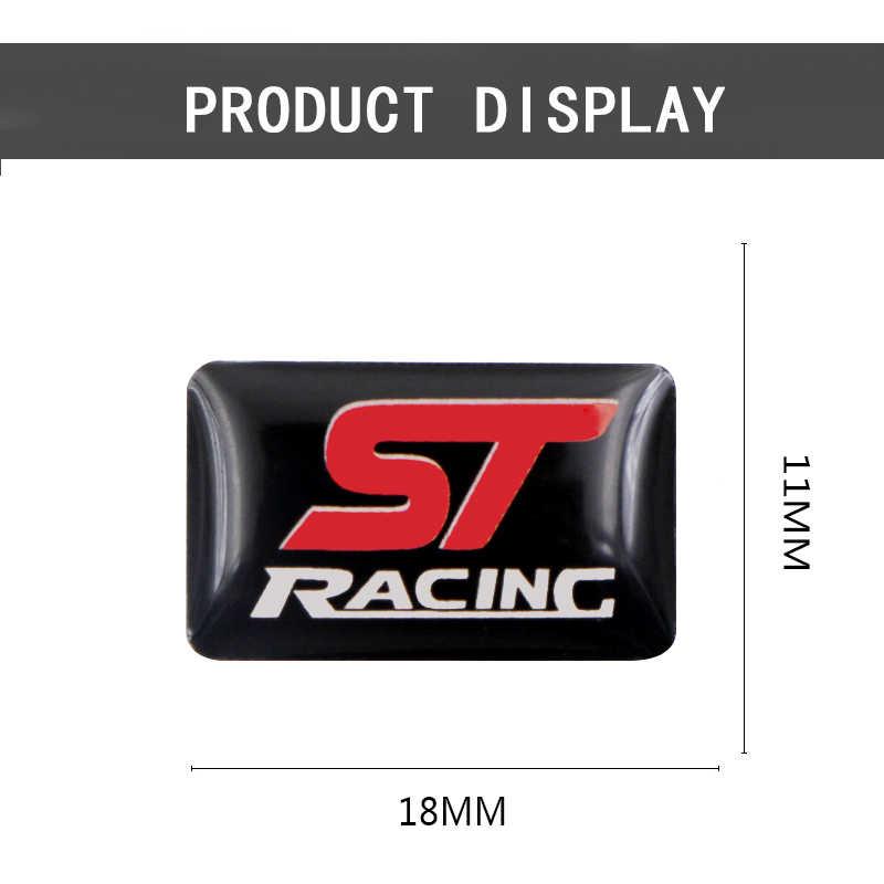 Coche-estilo motocicleta 3D epoxi emblema decorativo insignia coche pegatina funda para Ford Focus ST 2 3 Mondeo Ecosport accesorios de Auto