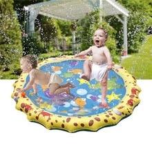 Открытый ПВХ opblaasbare водонепроницаемый коврик gras speelgoed strand vliegende schotel игровой коврик для воды kinderen opblaasbare pad