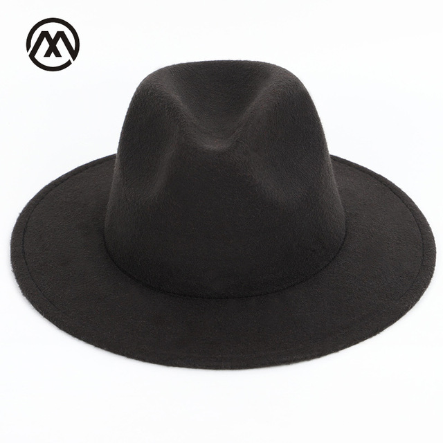 Men s hats solid color fashion big hats along the classic hat large size  60CM men and 42e3aef5db5d
