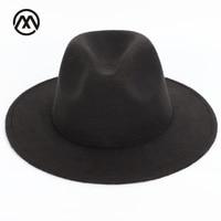 f511424e Sombrero de paja de playa de BUTTERMERE sombrero marrón para hombre de ala  ancha elegante Panamá sombrero Fedora femenino Casual de moda verano ...