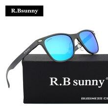 R. bsunny бренд мужской Алюминий модные Для мужчин поляризованные Зеркало Защита от солнца Очки женский Eyewears Украшения Солнцезащитные очки для Для мужчин R7043