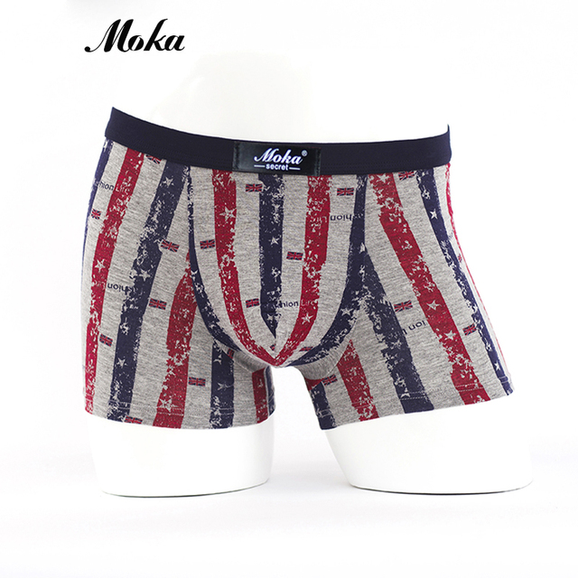 Fashion Red Underwear Men Brand Boxer Shorts Modal Cuecas Calvn Boxer Sheer  Boxer Shorts Winter Underwear 4056c6bb225b
