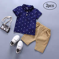 Children Clothing 2019 Summer Toddler Boys Clothes 2pcs Outfits Kids Clothes Sport Suit For Boys Clothing Sets 1 2 3 Year Spring