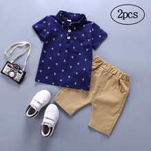 Children Clothing 2019 Summer Toddler Boys Clothes 2pcs Outfits Kids Sport Suit For Sets 1 2 3 Year Spring