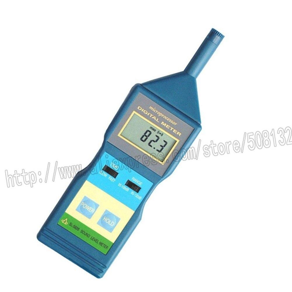 Landtek Sl 5826 Digital Lcd Sound Noise Level Meter Decibel Monitor Earth Hi Tester Hioki 3151 35 100db 80 130db Sl5826 In Measuring Instruments From Tools On