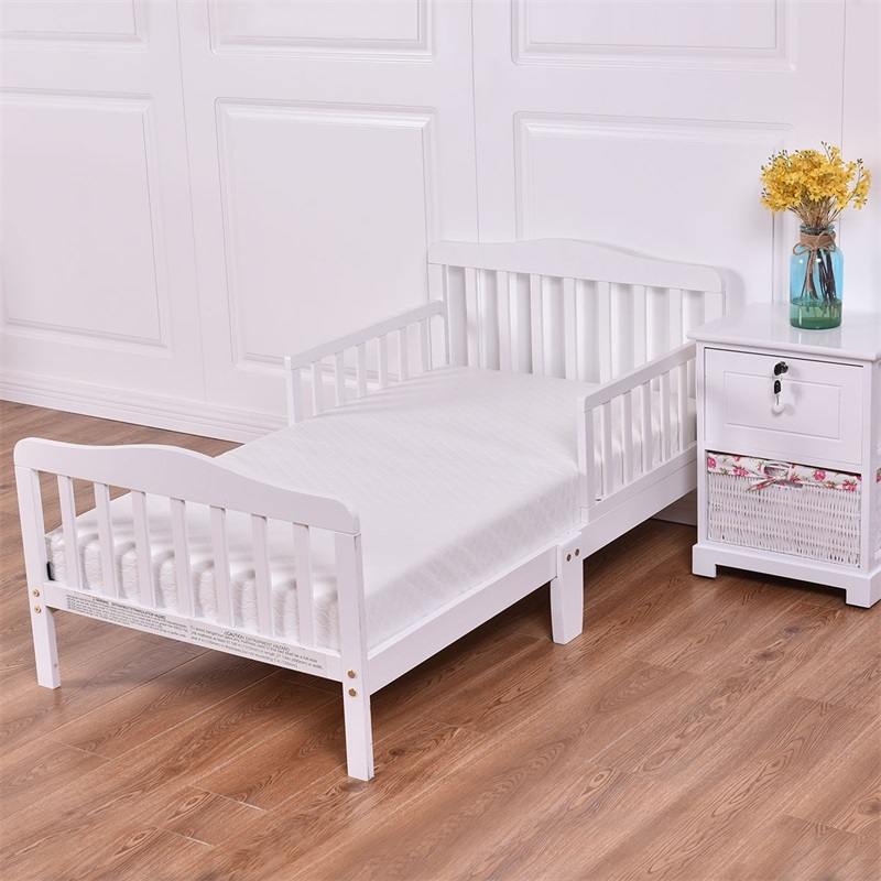 Baby Crib 5 Inches Thick Memory Foam Mattress Children's White Mattresses HT0950