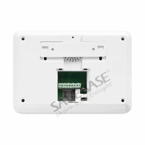 HOMSECUR Wireless/&wired 4G LCD Home Security Alarm System+4*PIR+Door Sensor