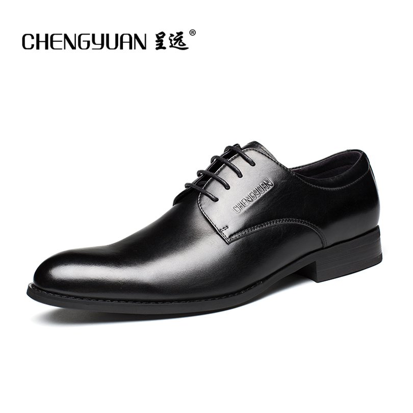 men 's classic simple business formal shoes men suits black leather breathable  gentleman wedding shoes 37-45 CHENGYUAN branded men s penny loafes casual men s full grain leather emboss crocodile boat shoes slip on breathable moccasin driving shoes
