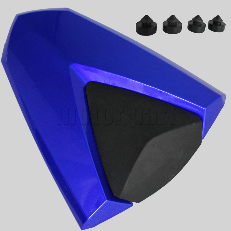 For 2014-2015 Yamaha YZF R25 R3 Motorcycle Rear Passenger Seat Cover Cowl 14 15 Blue Black Carbon for 2002 2005 kawasaki ninja zx9r zx 9r motorcycle rear passenger seat cover cowl black 01 02 03 04 05