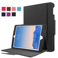 High Qualtiy Magnet Smart Sleep Wake Up Business With Keyboard Cover Stand PU Leather Case For