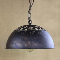 Reto Vintage Industrial Era Task Large Pendant Lamp E27 For Kitchen Cabinet Bar Coffee Lights Hardware Lighting Lights
