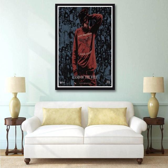 X112 New Joey Bada$$ Land Of The Free Badass Hot Music Album A4 Art