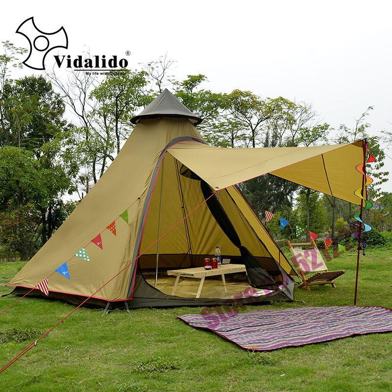 2019 3-4 Person Pyramid Aluminum Rod Waterproof Family Teepee Party Gazebo Driving Sun Shelter Beach Awning Outdoor Camping Tent н н лавров энциклопедия сексуальной совместимости