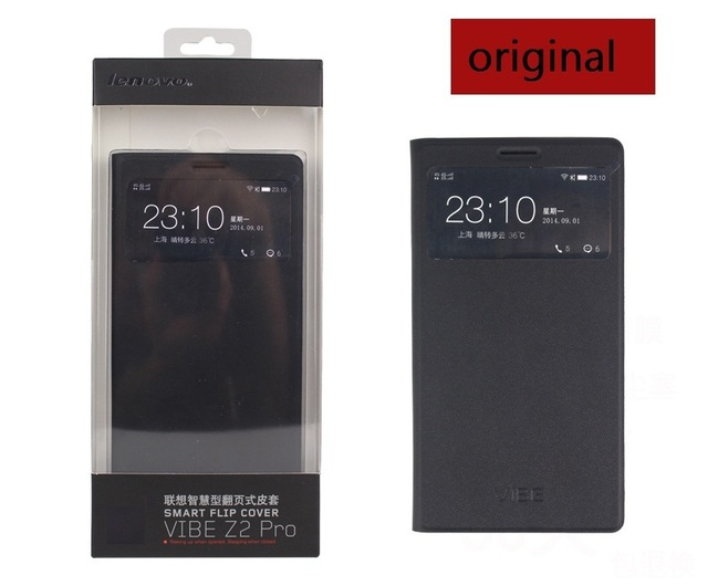 100% original  lenovo k920 case lenovo k920 Intelligent dormancy holster lenovo k920 cover  Free shipping