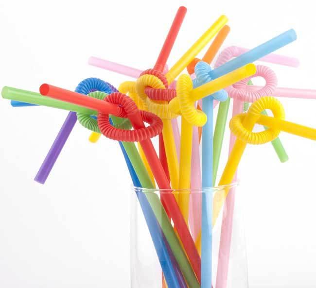 Free Shipping Color Magic Art Art Straw Colored Plastic