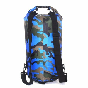 Waterproof Swimming Bag Dry Sack Camouflage Colors Fishing Boating Kayaking Storage Drifting Rafting Bag 2L 5L 10L 15L 20L 30L