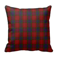 Stylish Clan Fraser Tartan Plaid Pillow Case (Size: 45x45cm) Free Shipping