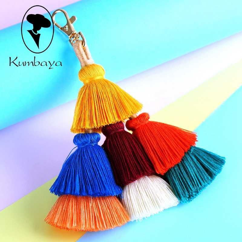 Разноцветный пушистый шарик помпоны Кисточки Брелок-помпон Женская сумка Подвески богемные Подвески Аксессуары брелки KC15851