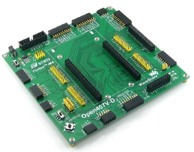 Livraison Gratuite! 1 pc basé sur la carte de développement STM32F4DISCOVERY ARM STM32 STM32F407