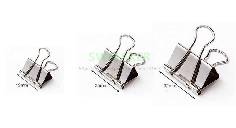 15มิลลิเมตร/19มิลลิเมตร/25มิลลิเมตร/32มิลลิเมตร/41มิลลิเมตร/50มิลลิเมตรFoldbackบูลด็อกแก้วเตียงคลิปสำหรับDIY R Eprapเครื่องพิมพ์3D