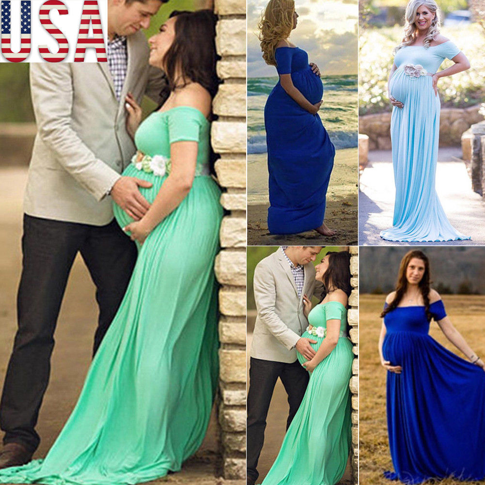 Couple maternity photography props maxi Maternity gown Floral Dress Fancy shooting photo Spring Autumn pregnant dress Plus SizeCouple maternity photography props maxi Maternity gown Floral Dress Fancy shooting photo Spring Autumn pregnant dress Plus Size