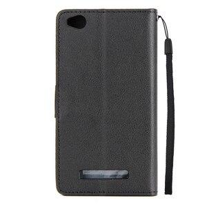 Image 3 - Redmi 5a Lederen Case Op Voor Xiaomi Redmi 5A Cover Voor Xiaomi Redmi 5A Fundas Klassieke Stijl Effen Kleur Flip portemonnee Telefoon Gevallen