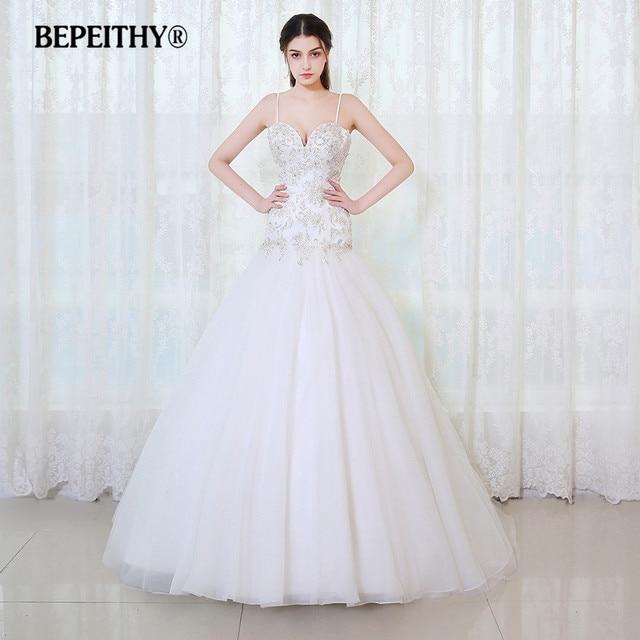BEPEITHY Vintage Lace Wedding Dresses 2017 Vestidos De Novia ...