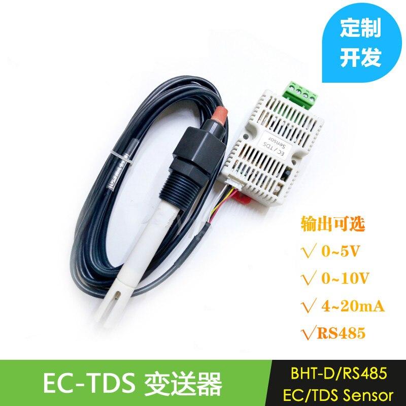 Transmetteur EC Module de capteur TDS conductivité 4-20 MA sortie de tension analogique sortie RS485