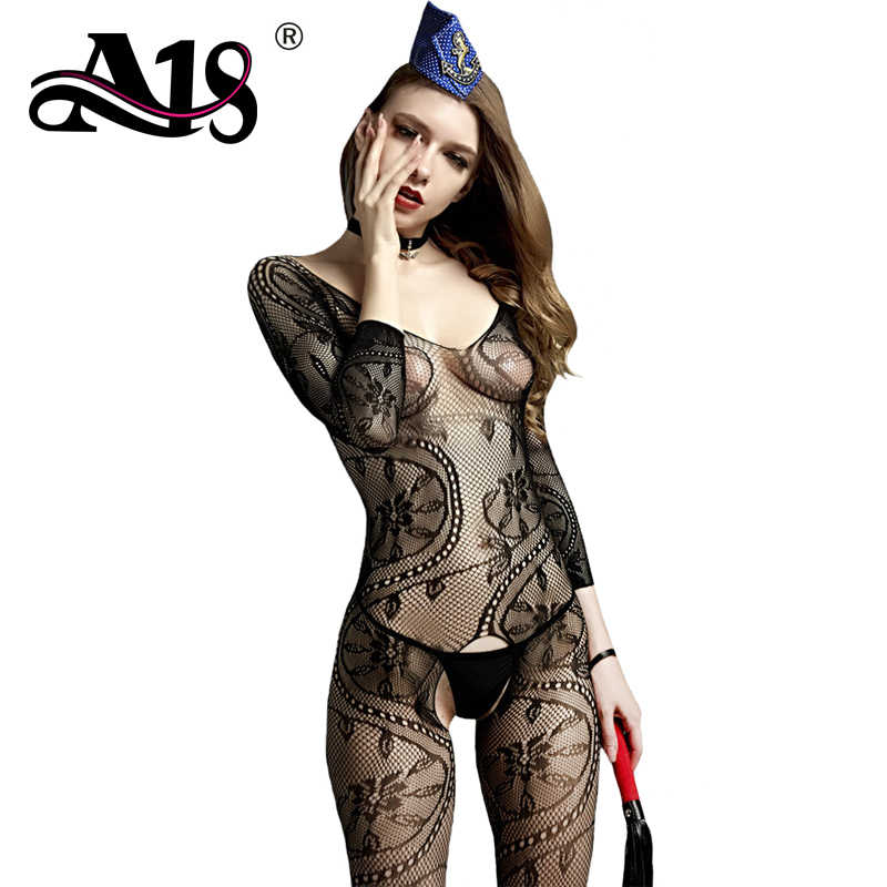 A18 Mess Romper Exotic Sexy Lingerie Women Backless Crotchless Bodysuits Sexy Erotic Suits Woman Bodystocking Sexy