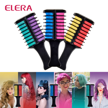 ELERA Professional Two-color Hair Comb Hair Dye Hair Color C