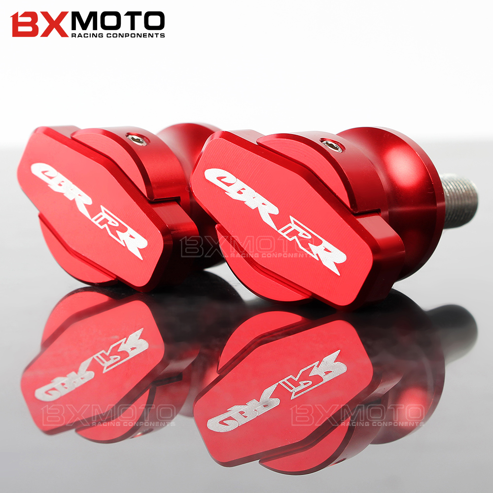 M8 with LOGO CNC Motorcycle stand screws Swingarm Spools slider Universal For Honda CBR 600 900 954 1000 RR hornet 600 CBR1000RR